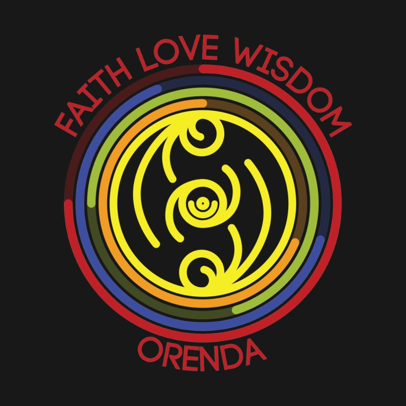 Faith Love Wisdom by Hristo's Shop