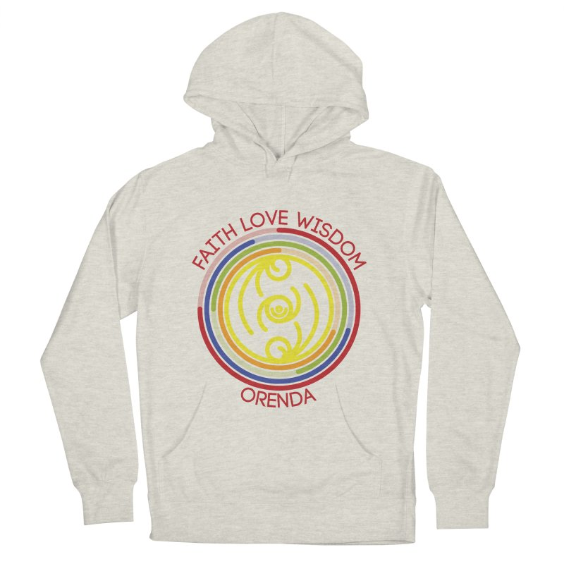 Faith Love Wisdom Women's Pullover Hoody by hristodonev's Artist Shop