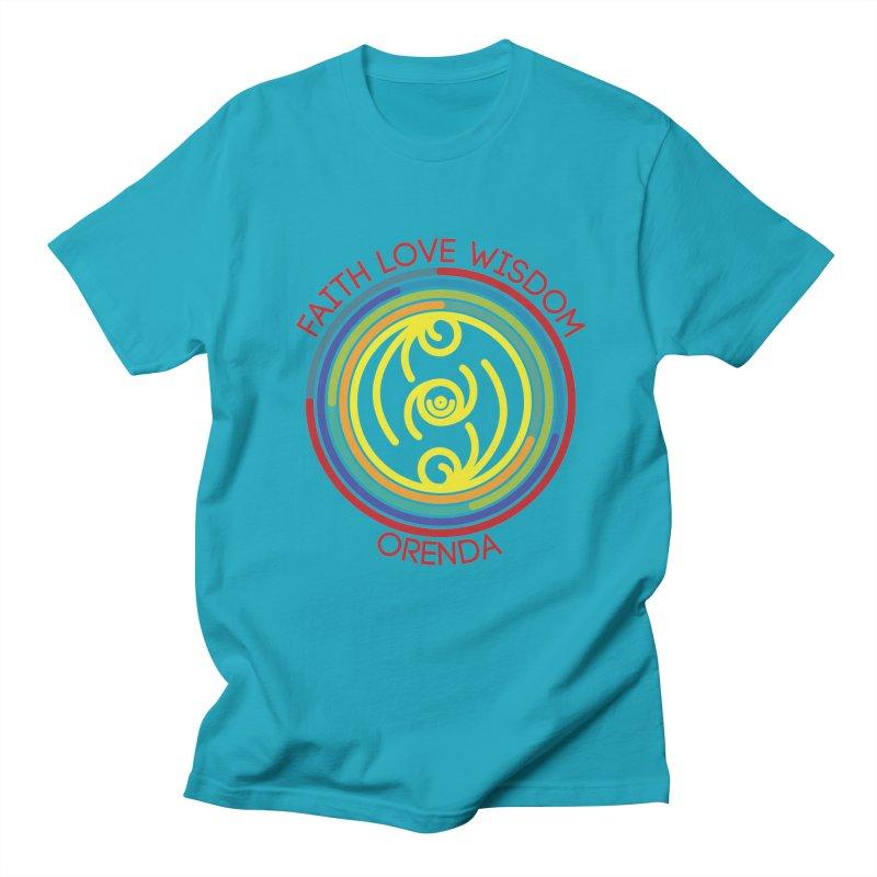 Faith Love Wisdom Women's Regular Unisex T-Shirt by Hristo's Shop