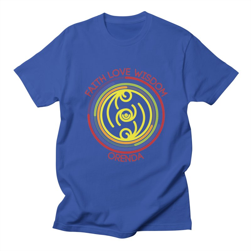 Faith Love Wisdom Women's Regular Unisex T-Shirt by Hristo's Shop