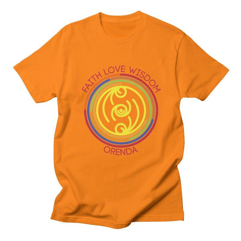 Faith Love Wisdom Women's Unisex T-Shirt by Hristo's Shop