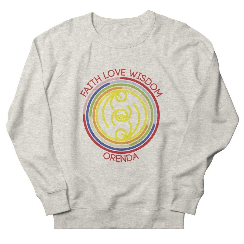 Faith Love Wisdom Women's French Terry Sweatshirt by Hristo's Shop