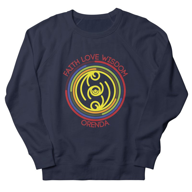 Faith Love Wisdom Men's Sweatshirt by Hristo's Shop