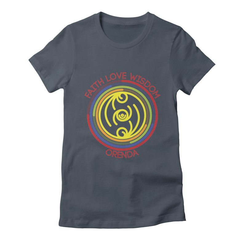 Faith Love Wisdom Women's T-Shirt by Hristo's Shop