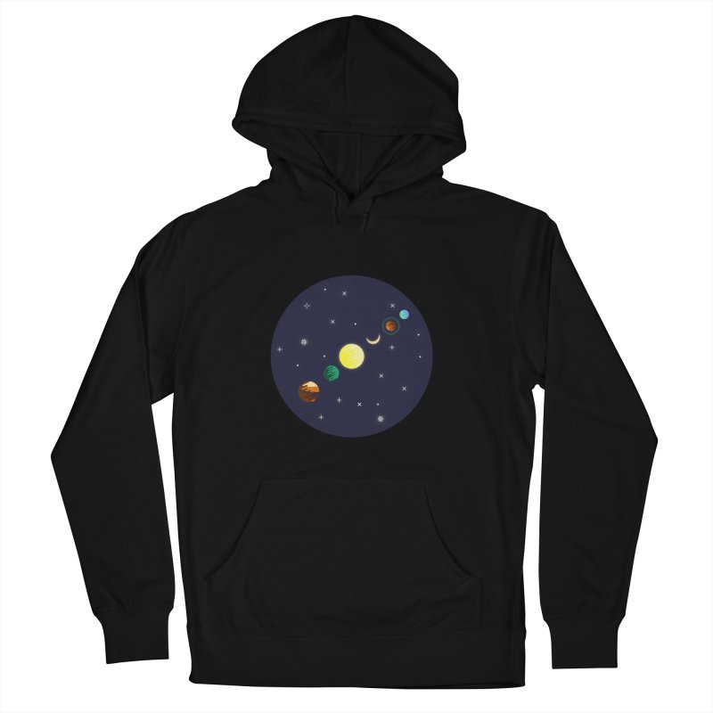 Starry night Men's Pullover Hoody by Hristo's Shop