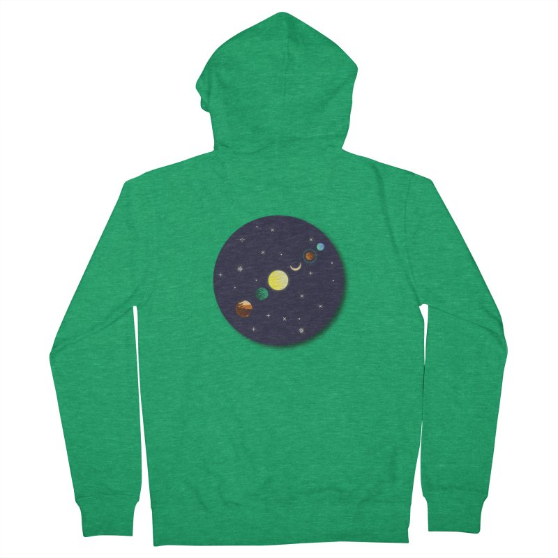Starry night Women's Zip-Up Hoody by Hristo's Shop