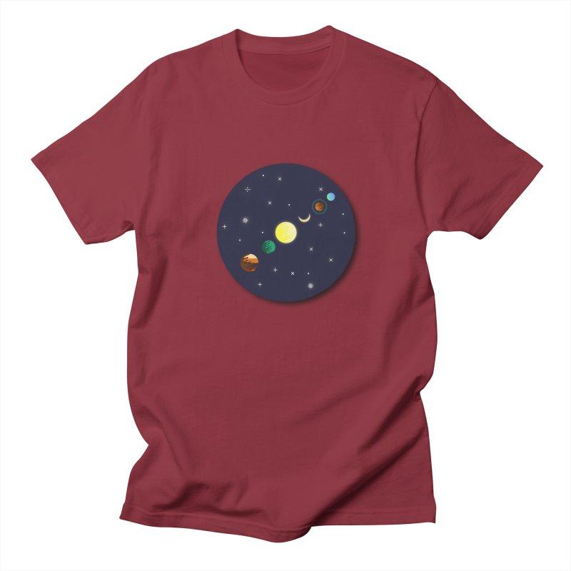 Starry night Men's T-Shirt by Hristo's Shop