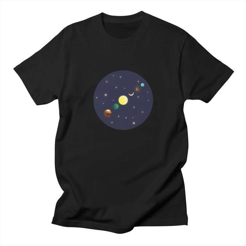 Starry night Men's Regular T-Shirt by Hristo's Shop
