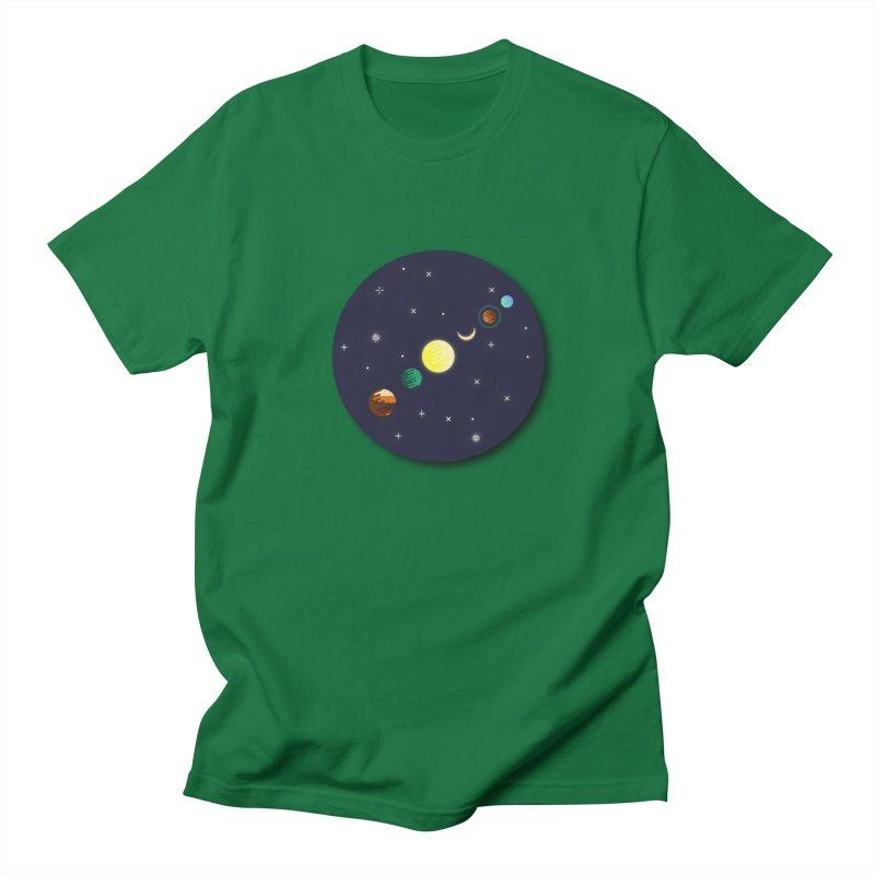 Starry night Women's Unisex T-Shirt by hristodonev's Artist Shop