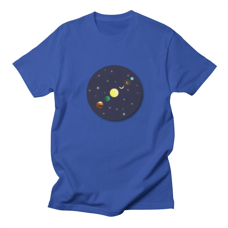 Starry night Women's Regular Unisex T-Shirt by Hristo's Shop