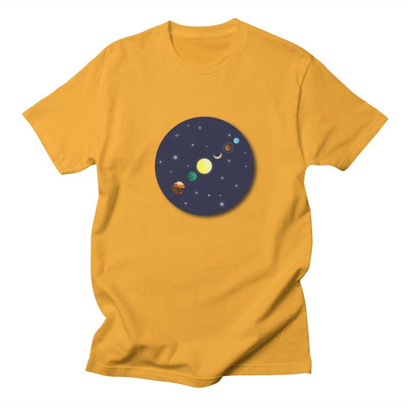 Starry night Men's Regular T-Shirt by Hristo's Shop
