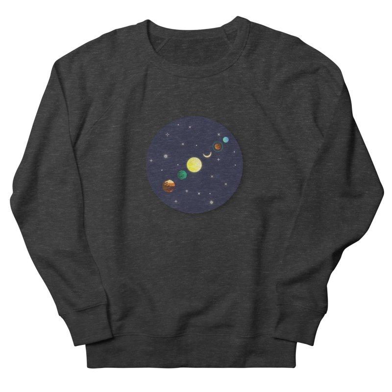 Starry night Women's French Terry Sweatshirt by Hristo's Shop