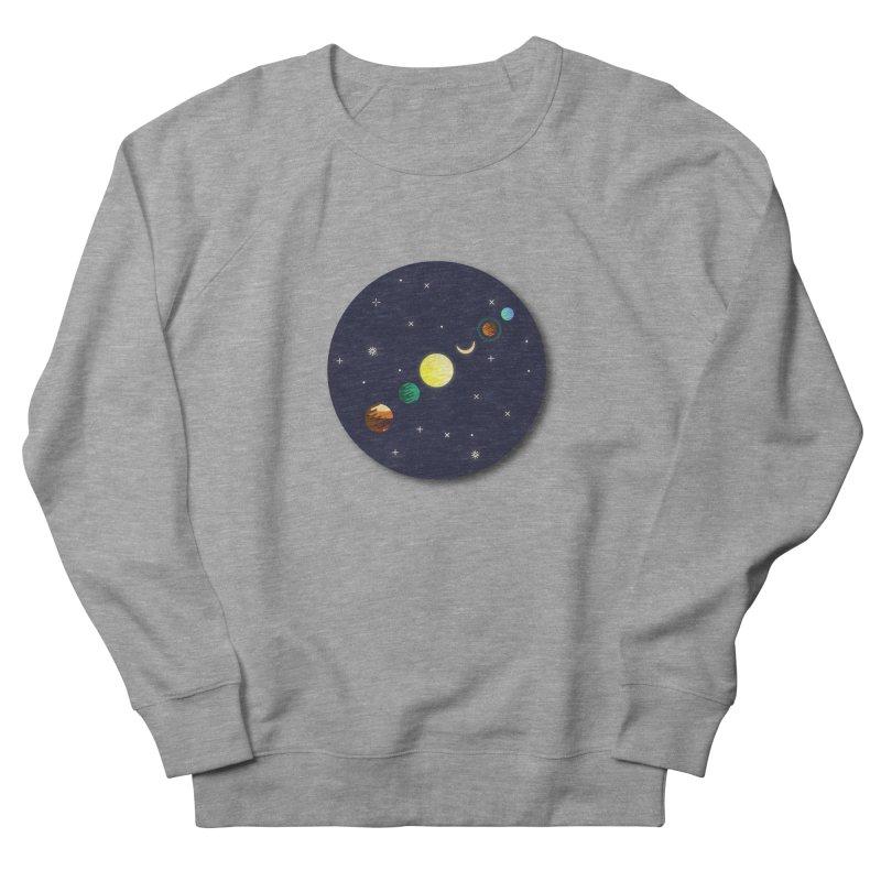 Starry night Women's Sweatshirt by hristodonev's Artist Shop