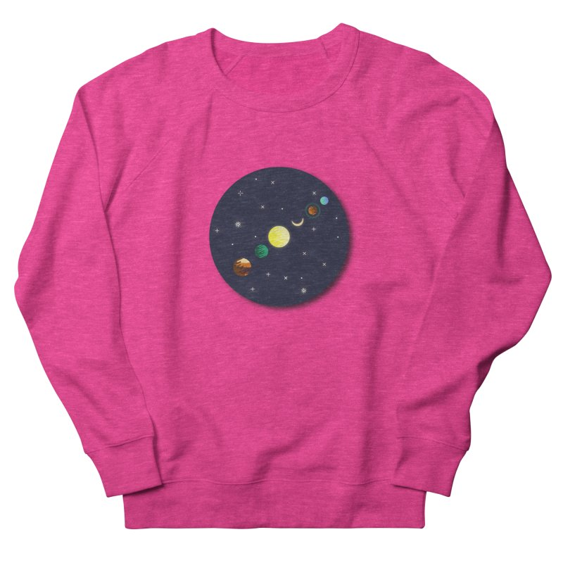 Starry night Women's French Terry Sweatshirt by Hristo's Shop