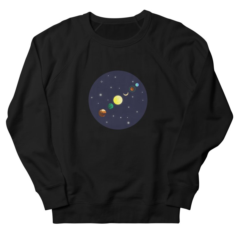 Starry night Women's Sweatshirt by hristodonev's Artist Shop