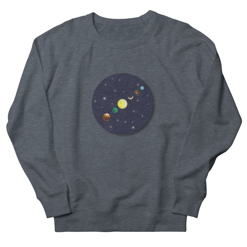 Starry night Men's Sweatshirt by hristodonev's Artist Shop