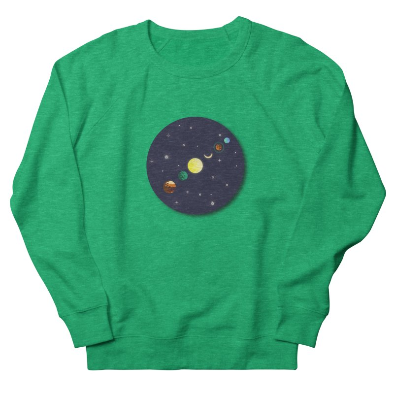 Starry night Men's French Terry Sweatshirt by Hristo's Shop
