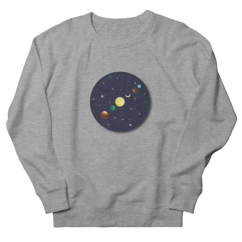 Starry night Men's Sweatshirt by Hristo's Shop