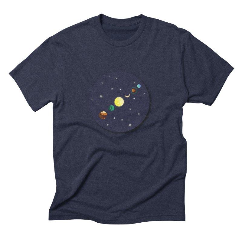 Starry night Men's Triblend T-Shirt by Hristo's Shop