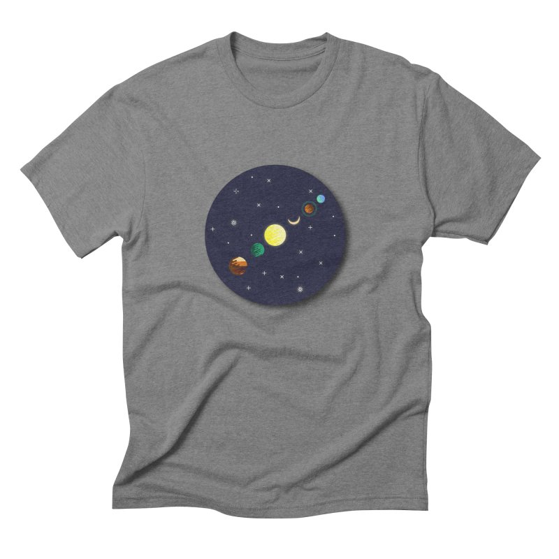 Starry night Men's Triblend T-Shirt by Hristo's Shop