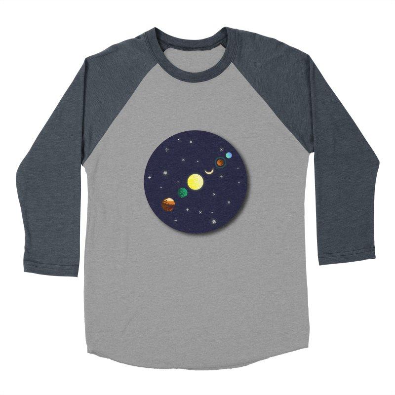 Starry night Men's Baseball Triblend Longsleeve T-Shirt by Hristo's Shop