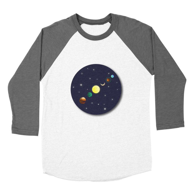 Starry night Men's Baseball Triblend T-Shirt by Hristo's Shop