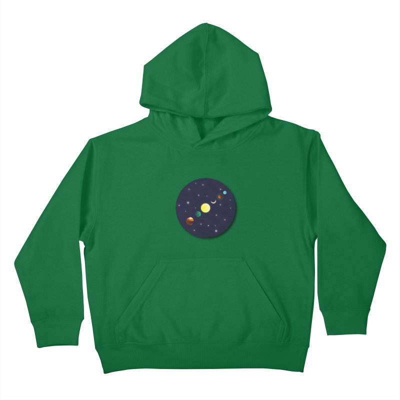 Starry night Kids Pullover Hoody by Hristo's Shop