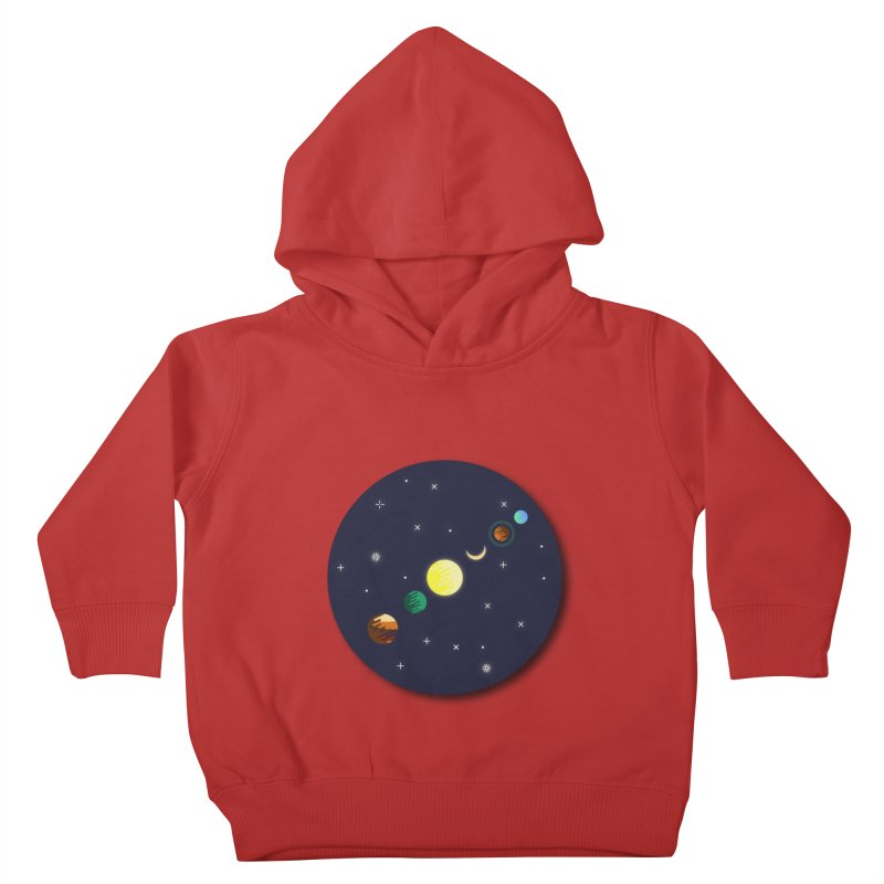 Starry night Kids Toddler Pullover Hoody by Hristo's Shop