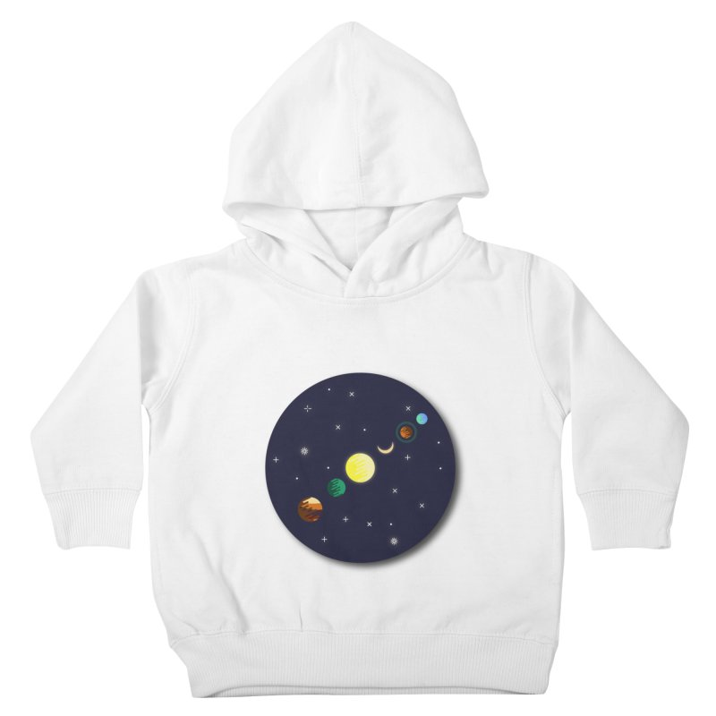 Starry night Kids Toddler Pullover Hoody by hristodonev's Artist Shop