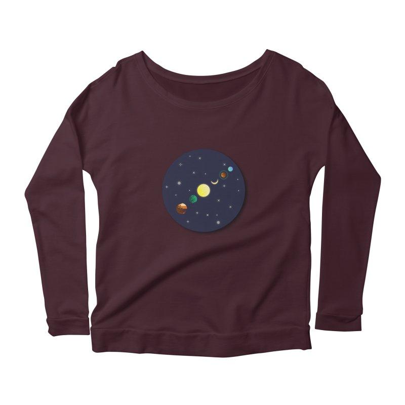 Starry night Women's Longsleeve T-Shirt by Hristo's Shop