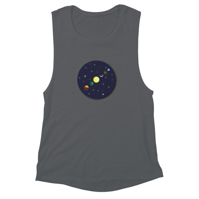 Starry night Women's Muscle Tank by Hristo's Shop