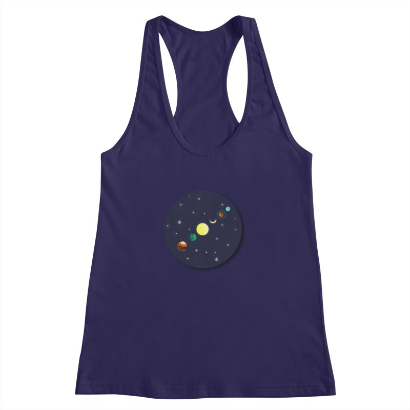 Starry night Women's Racerback Tank by Hristo's Shop