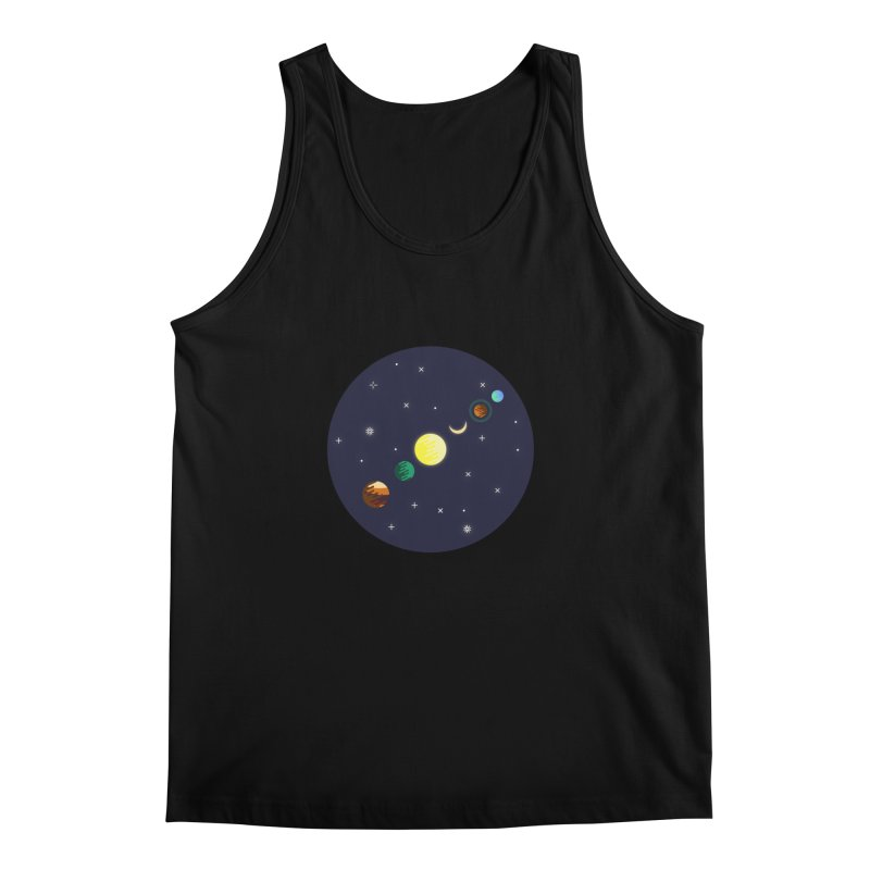 Starry night Men's Regular Tank by Hristo's Shop
