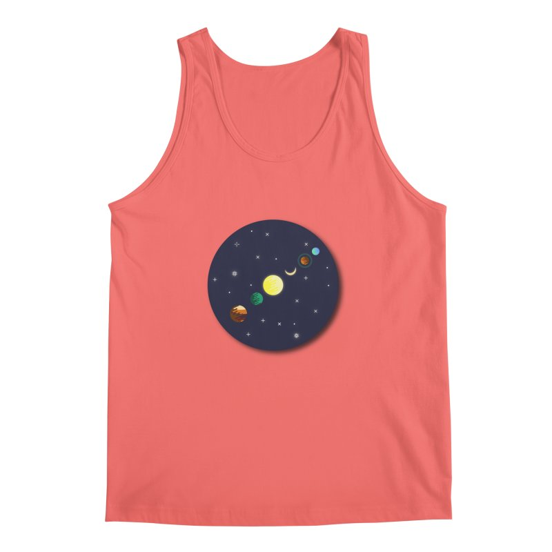 Starry night Men's Tank by hristodonev's Artist Shop