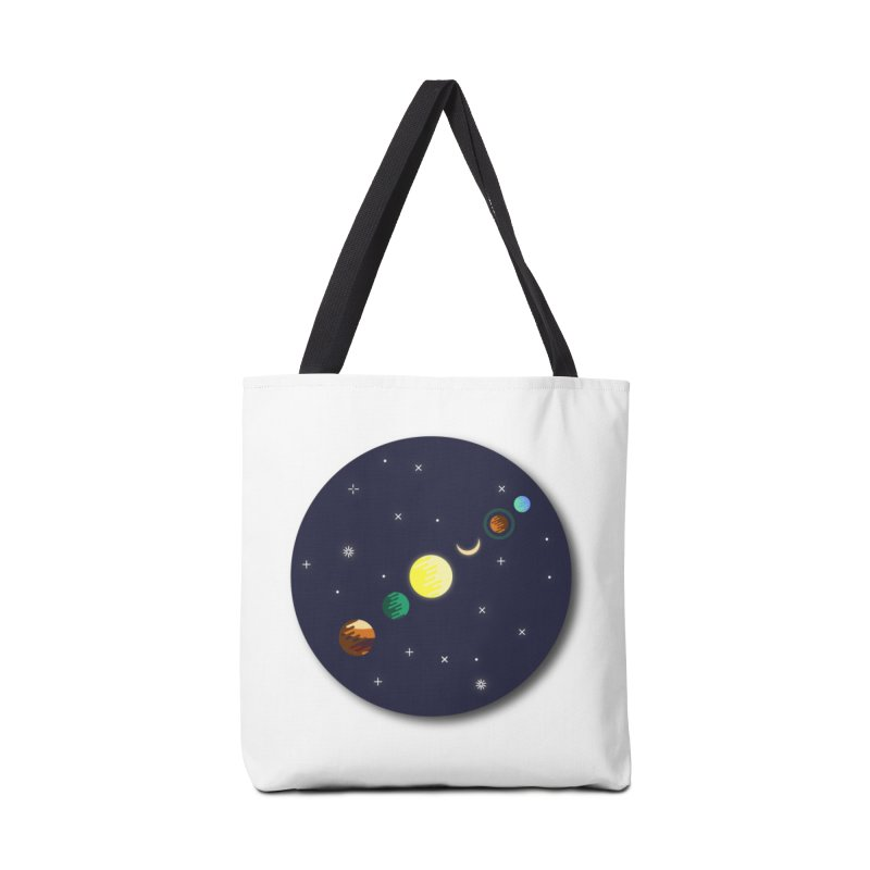 Starry night Accessories Tote Bag Bag by Hristo's Shop