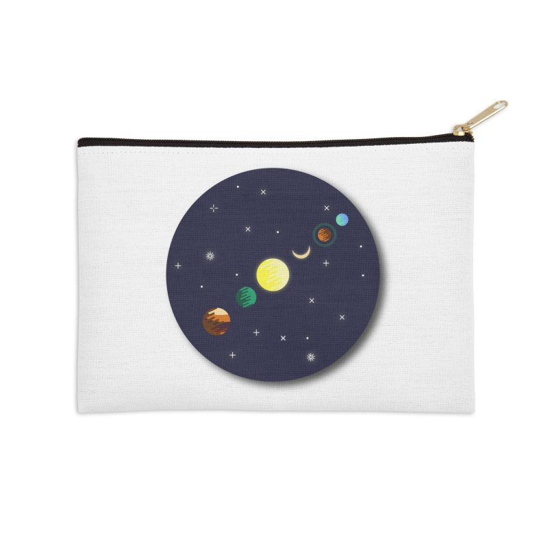 Starry night Accessories Zip Pouch by hristodonev's Artist Shop