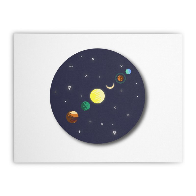 Starry night Home Stretched Canvas by Hristo's Shop