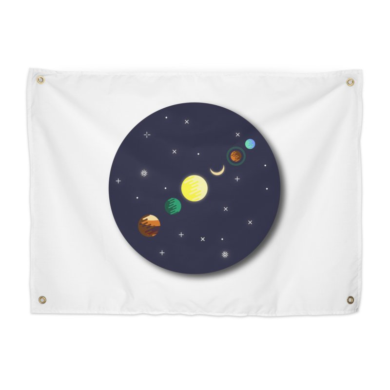 Starry night Home Tapestry by hristodonev's Artist Shop