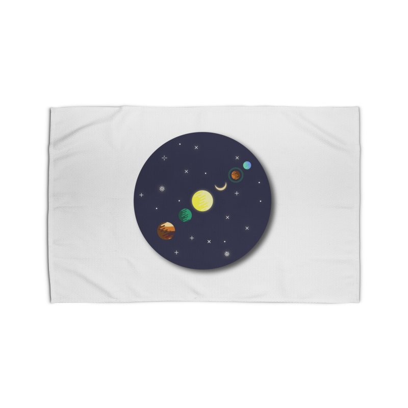Starry night Home Rug by Hristo's Shop