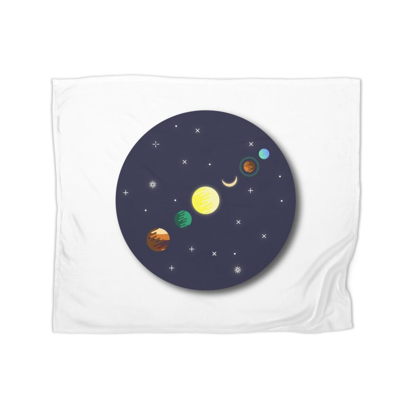 Starry night Home Blanket by Hristo's Shop
