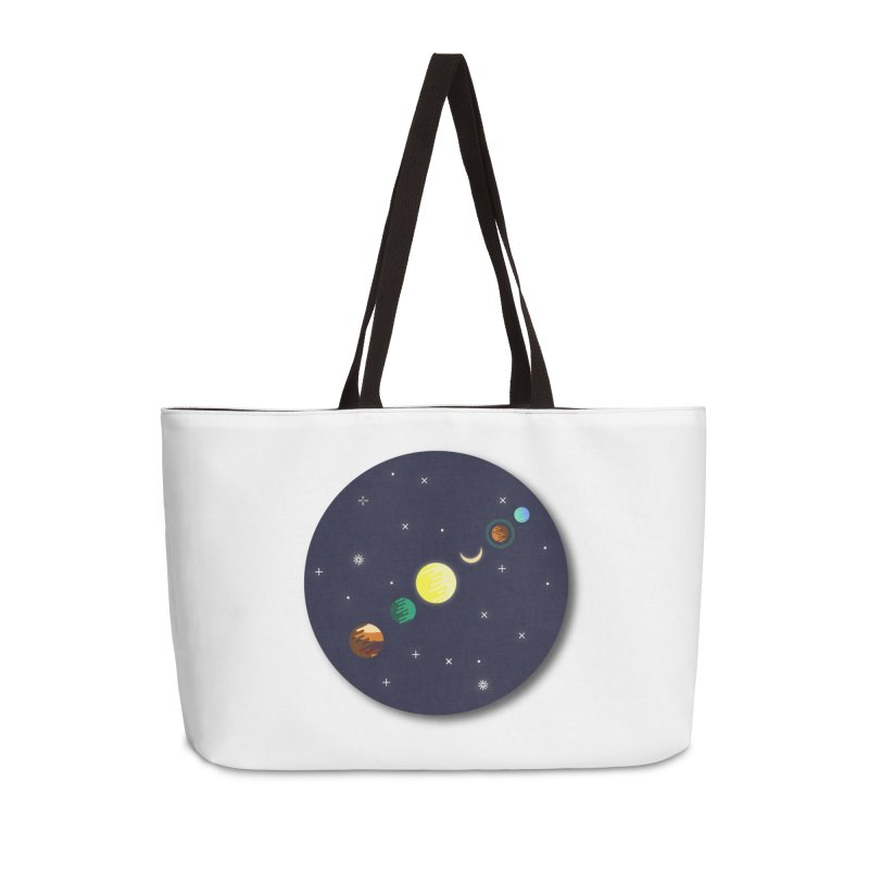 Starry night Accessories Weekender Bag Bag by Hristo's Shop