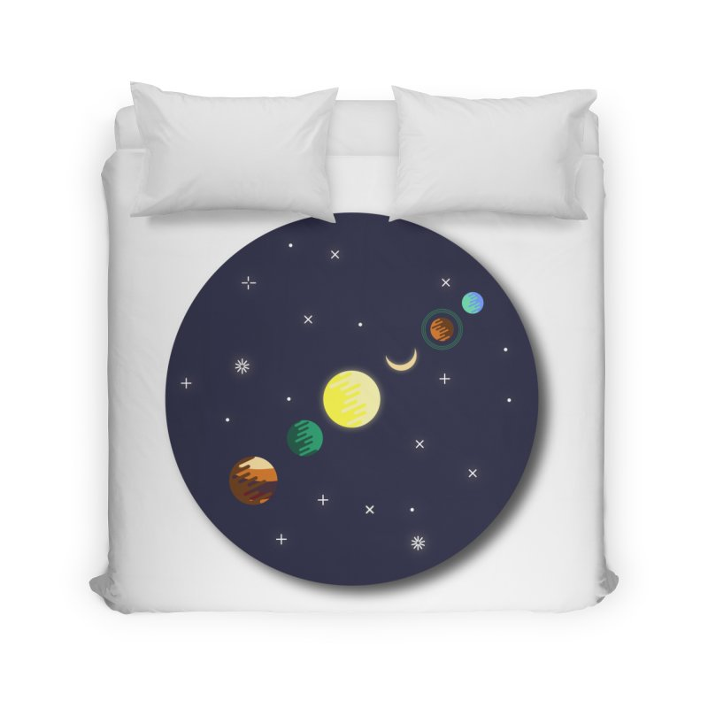 Starry night Home Duvet by hristodonev's Artist Shop