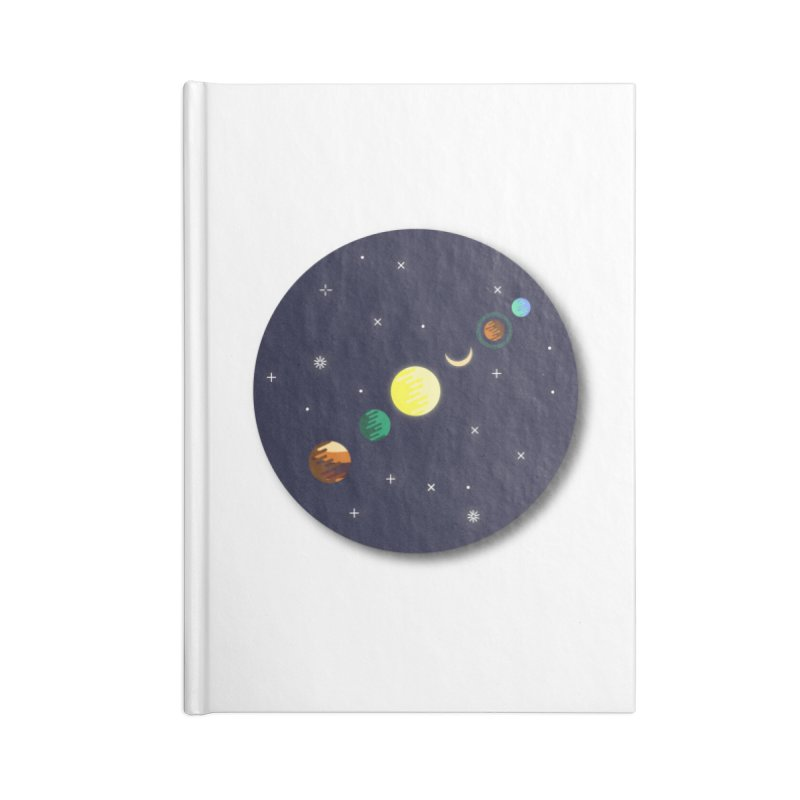 Starry night Accessories Notebook by Hristo's Shop