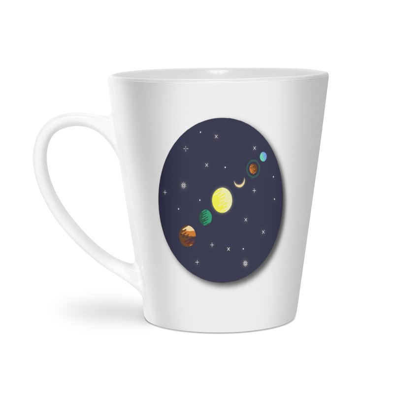 Starry night Accessories Latte Mug by Hristo's Shop