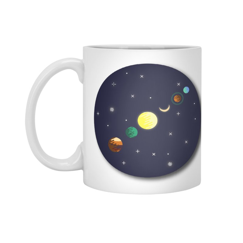 Starry night Accessories Mug by Hristo's Shop