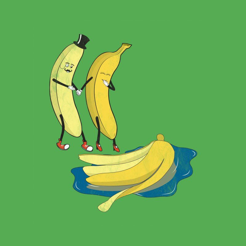 Banana Gentleman None  by hristodonev's Artist Shop