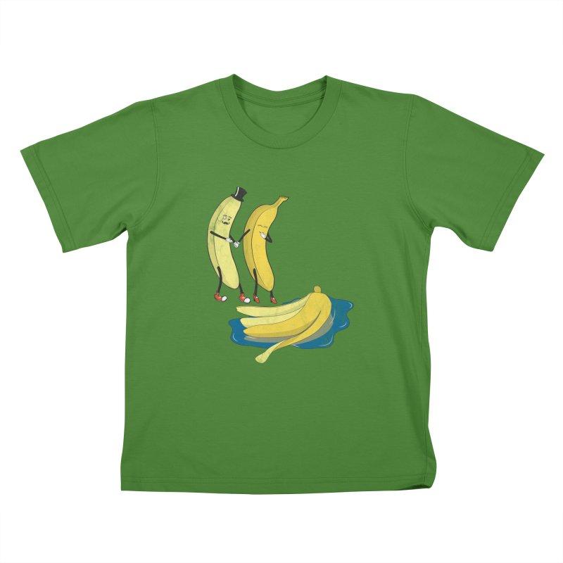 Banana Gentleman Kids T-shirt by hristodonev's Artist Shop