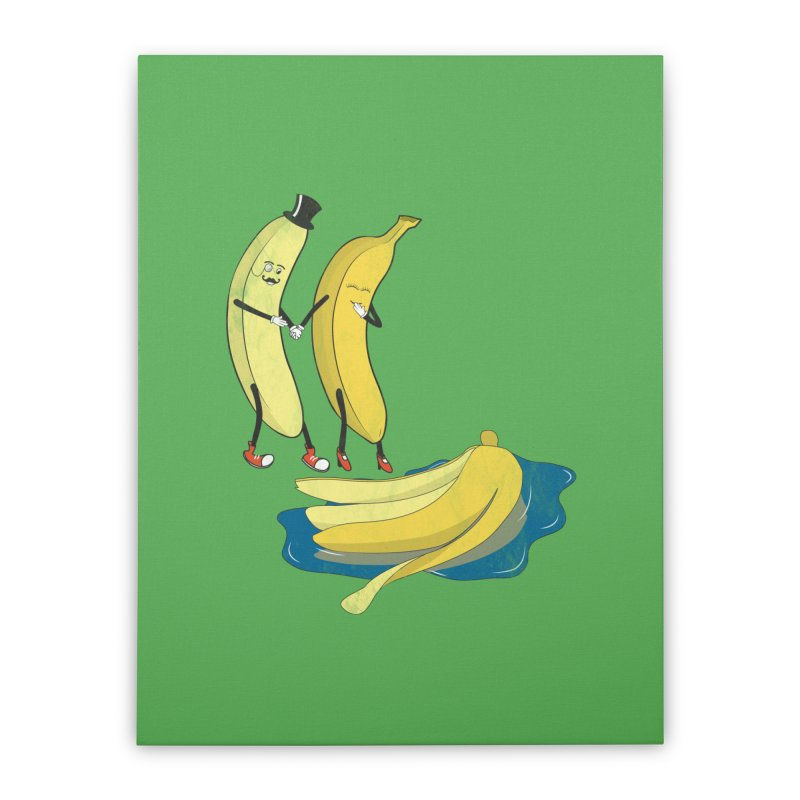Banana Gentleman Home Stretched Canvas by hristodonev's Artist Shop