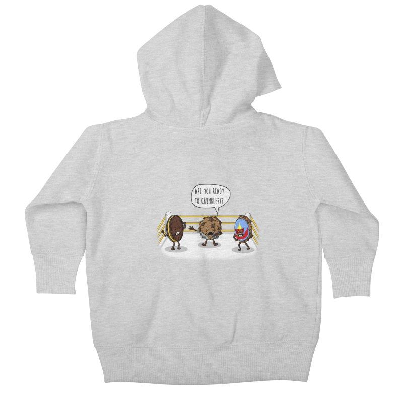 Kids Baby Zip-Up Hoody by hristodonev's Artist Shop