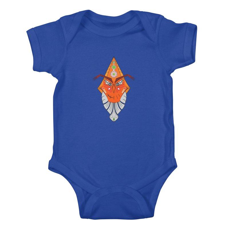 Kuker Kids Baby Bodysuit by hristodonev's Artist Shop